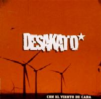 """Primer disco, """"Con el viento de cara"""", 2008."""