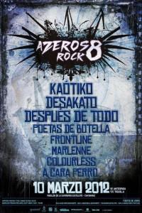 Cartel del Festival Azeros Rock