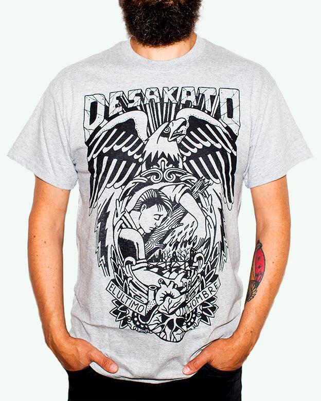 Camiseta el ultimo hombre de Desakato para Chico