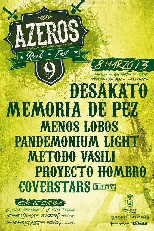 Azeros rock 2013
