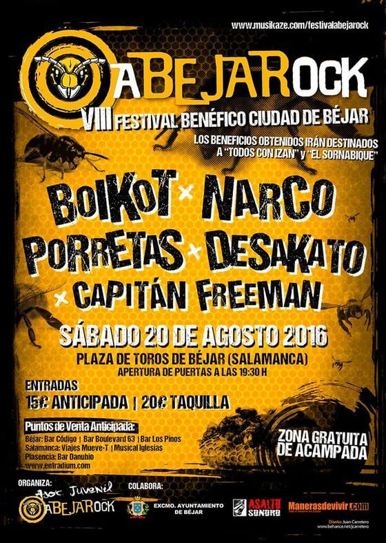 Festival Abeja Rock - Béjar (Salamanca) @ Abeja Rock | Béjar | Castilla y León | España