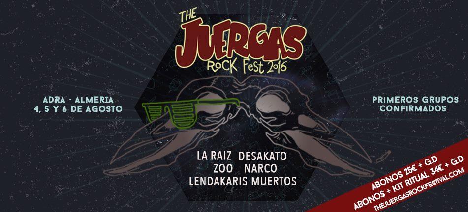 Festival The Juerga's Rock - Adra (Almería) @ The Juerga's Rock | Adra | Andalucía | España