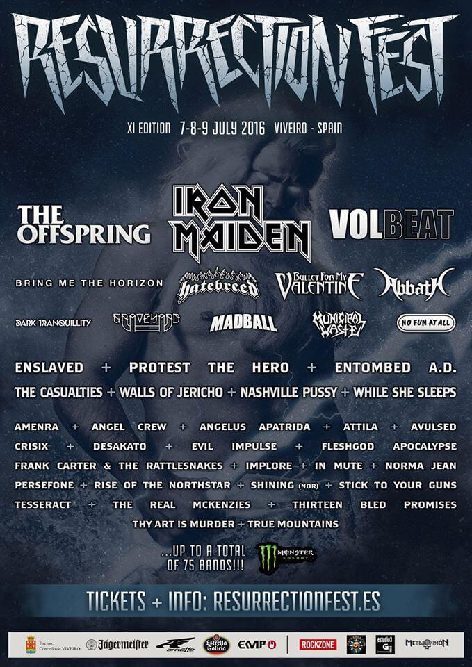 Resurrection Fest - Viveiro (Galicia) @ Resurrection Fest | Vivero | Galicia | España