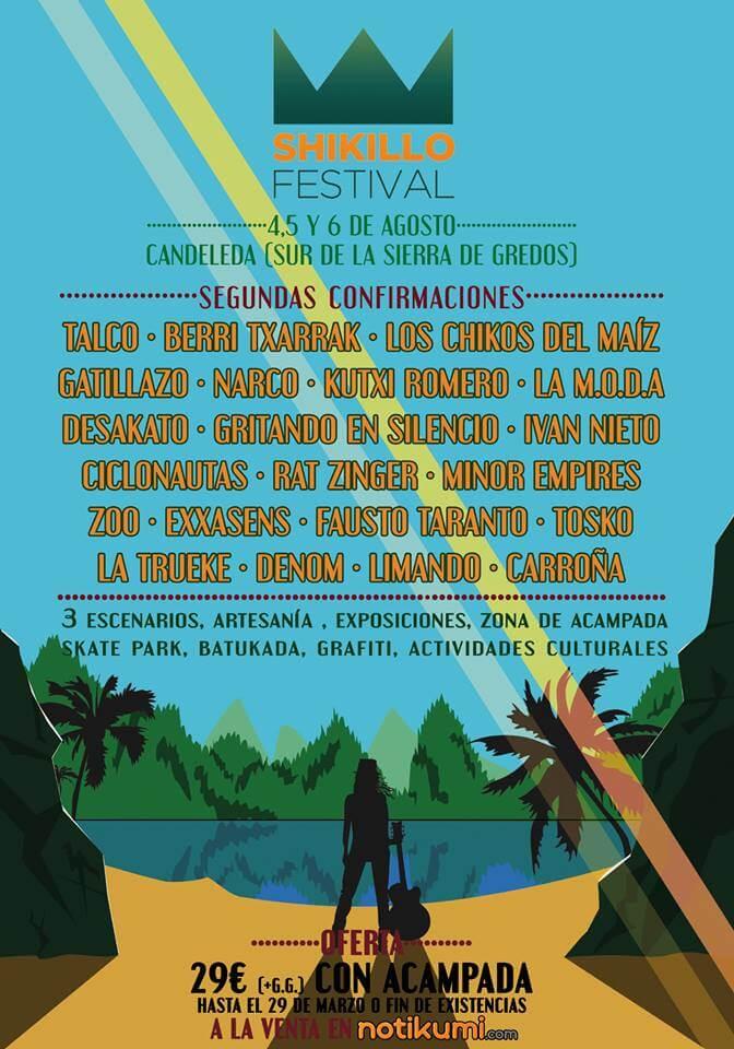Shikillo Festival - Candeleda (Ávila) @ Shilkillo Festival | Candeleda | Castilla y León | España
