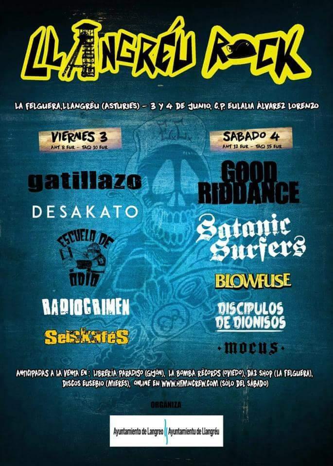 Llangreu Rock - Langreo (Asturias) @ Llangreu Rock | Langreo | Principado de Asturias | España