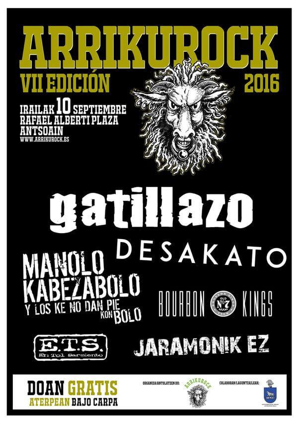 Festival Arrikurock - Pamplona (Navarra) @ Festival Arrikurock | Pamplona | Navarra | España