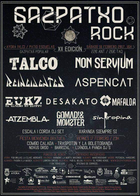 Gazpatxo Rock - Ayora (Valencia) @ Festival Gazpatxo Rock | Ayora | Comunidad Valenciana | España