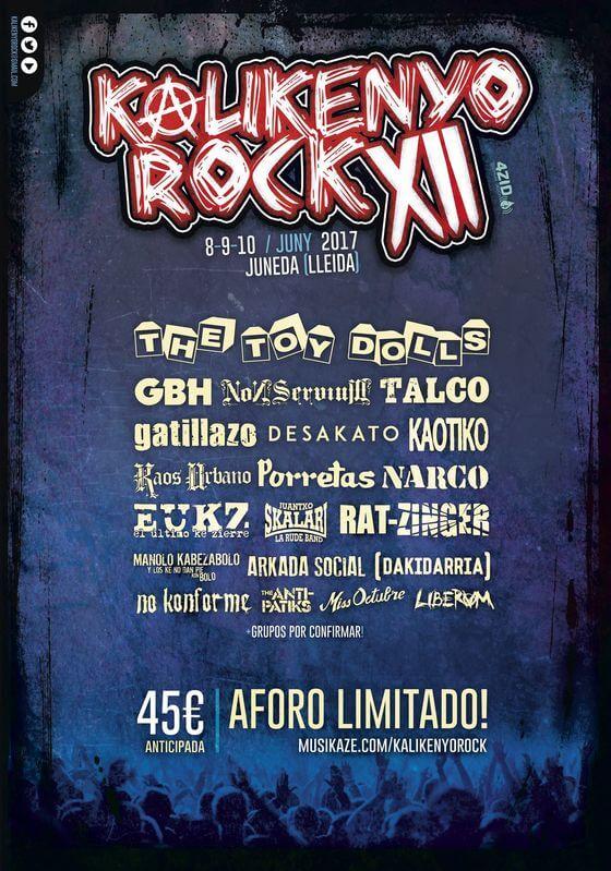 Kalikenyo Rock - Juneda (Lleida) @ Kalikenyo Rock | Juneda | Cataluña | España