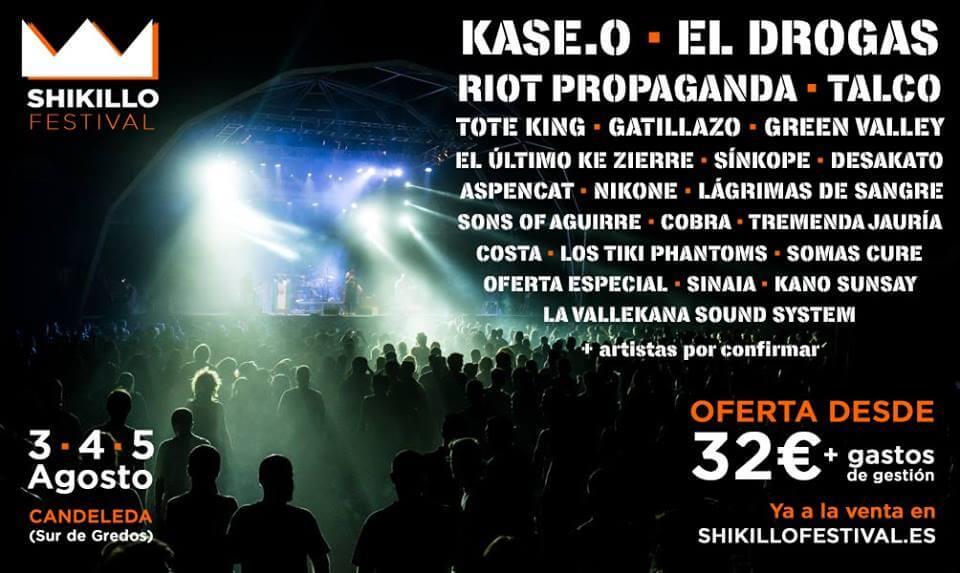 Shikillo Festival - Candeleda (Ávila) @ Shikillo festival | Candeleda | Castilla y León | España