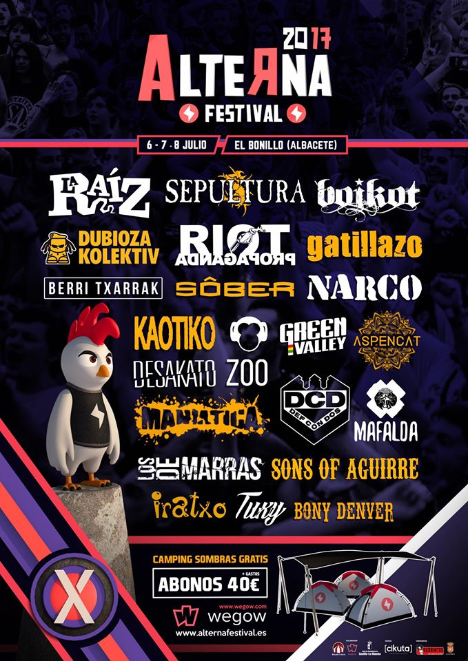 Alterna Festival - El bonillo (Albacete) @ Alterna Festival | El Bonillo | Castilla-La Mancha | España