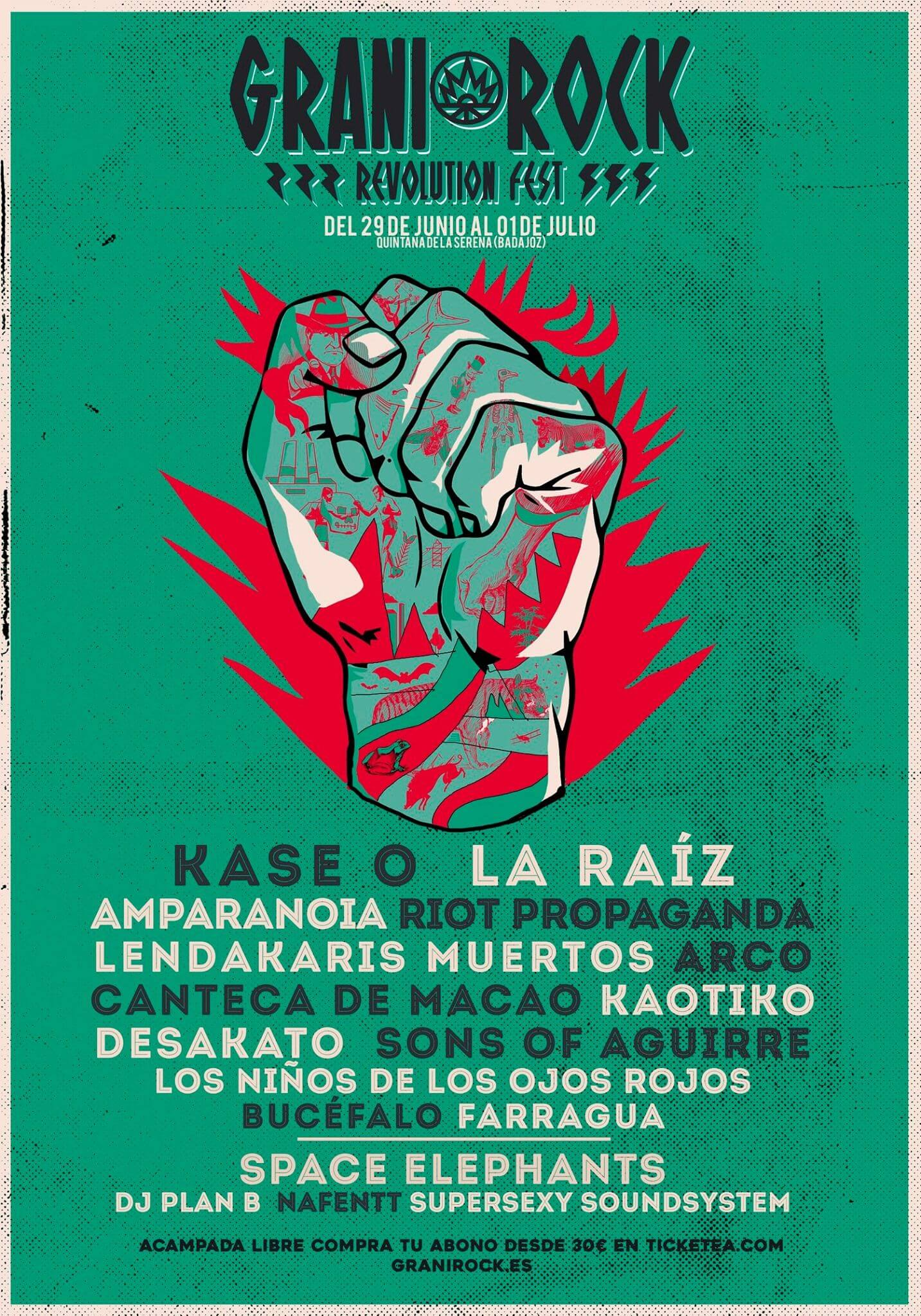 Granirock Fest - Quintana de la Serena (Badajoz) @ Granirock Fest | Quintana de la Serena | Extremadura | España