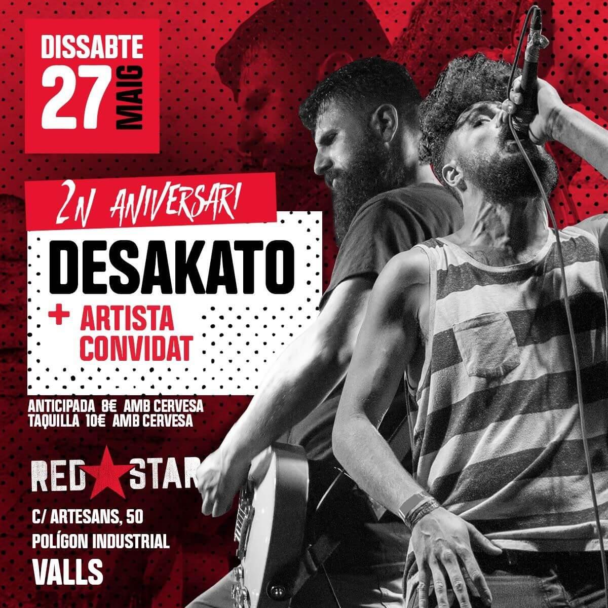 Sala Red Star - Valls (Tarragona) @ Sala Red Star | Cataluña | España