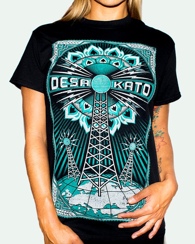 Camiseta Antena de Desakato para Chica